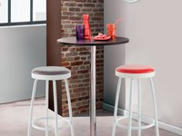 TABLE DE BAR PACO + TABOURET PIVOTANT ARLOW en Guadeloupe